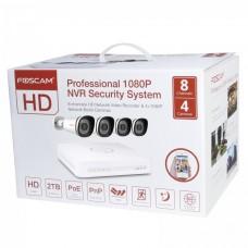 Videonadzorni kit komplet Foscam FN7108E-B4-2T